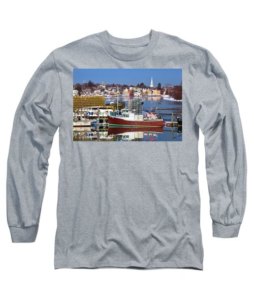 Portsmouth Lobster Boat Long Sleeve T-Shirt