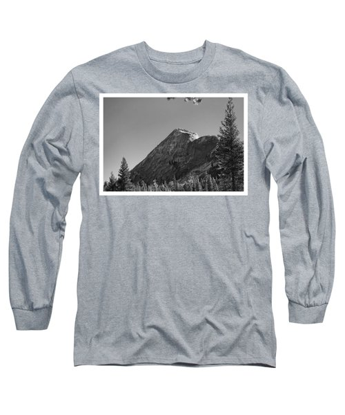 Pothole Dome In Yosemite Long Sleeve T-Shirt