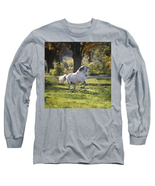 Practicing Levade Long Sleeve T-Shirt