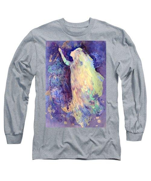 Prayer Long Sleeve T-Shirt by Marilyn Jacobson