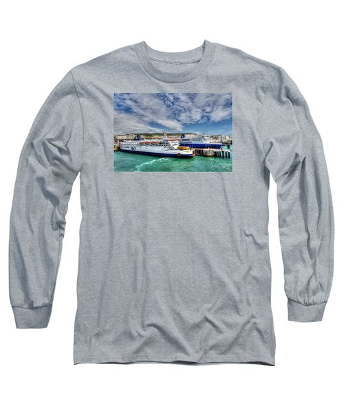 Preparing To Cross The Channel Long Sleeve T-Shirt