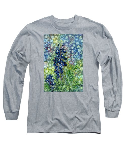 Pretty In Blue Long Sleeve T-Shirt