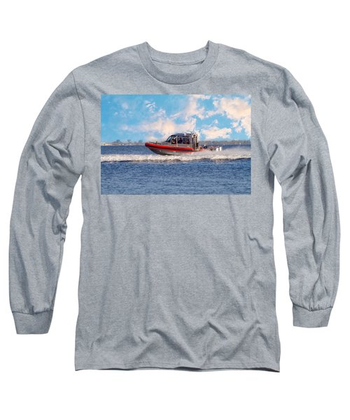 Protecting Our Waters - Coast Guard Long Sleeve T-Shirt