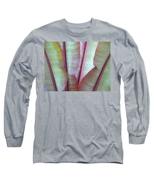 Long Sleeve T-Shirt featuring the photograph Purple Banana by Evelyn Tambour