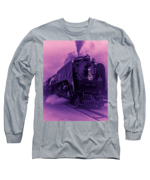Purple Smoke Long Sleeve T-Shirt