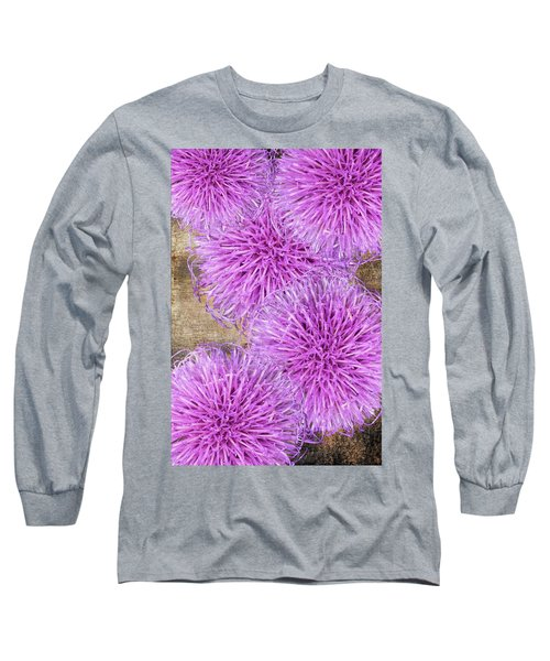 Purple Thistle - 2 Long Sleeve T-Shirt