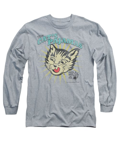 Puss N Boots - Cats Pajamas Long Sleeve T-Shirt