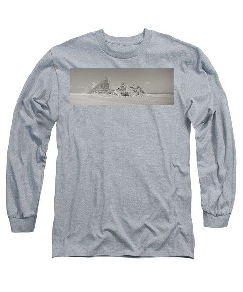 Pyramids Of Giza, Egypt Long Sleeve T-Shirt