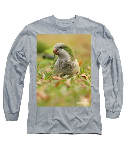 Quaker Parrot #3 Long Sleeve T-Shirt
