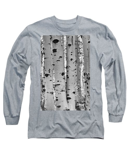 Quaking Aspen Zion National Park Long Sleeve T-Shirt