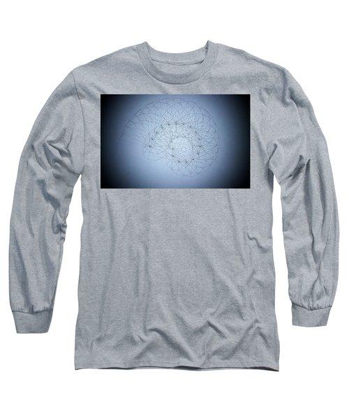 Quantum Nautilus Spotlight Long Sleeve T-Shirt by Jason Padgett