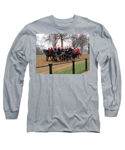 Long Sleeve T-Shirt featuring the photograph Queen's Guard by Tiffany Erdman