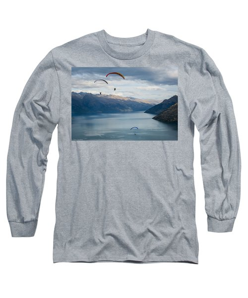 Queenstown Paragliders Long Sleeve T-Shirt