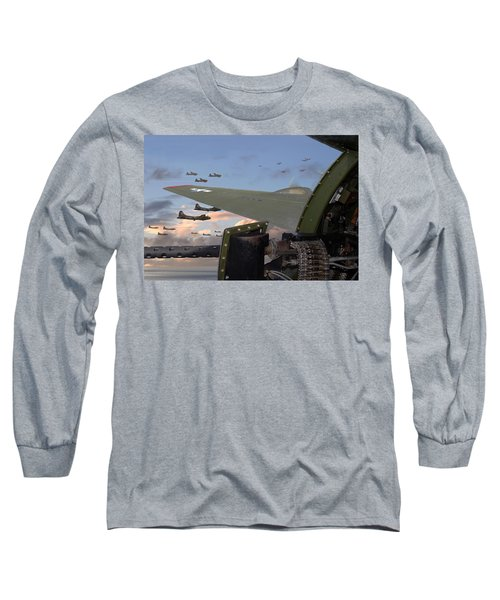 Quiet Before The Storm Long Sleeve T-Shirt