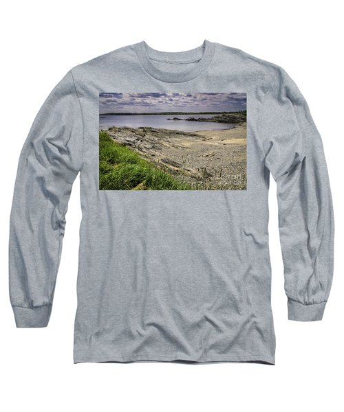Long Sleeve T-Shirt featuring the photograph Quiet Cove by Mark Myhaver