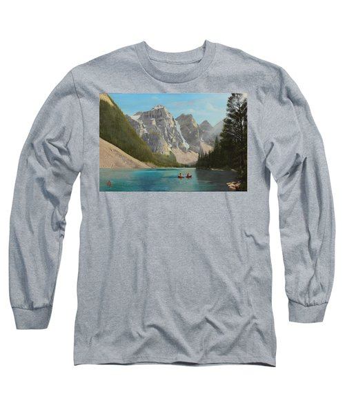 Quiet Day Long Sleeve T-Shirt