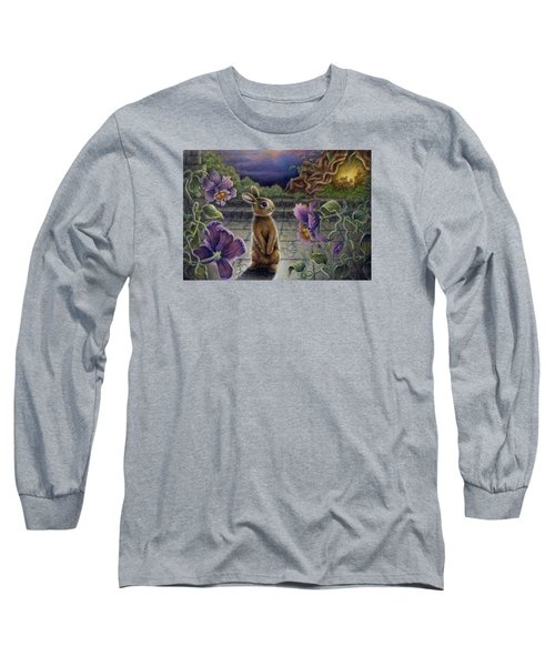 Rabbit Dreams Long Sleeve T-Shirt by Retta Stephenson