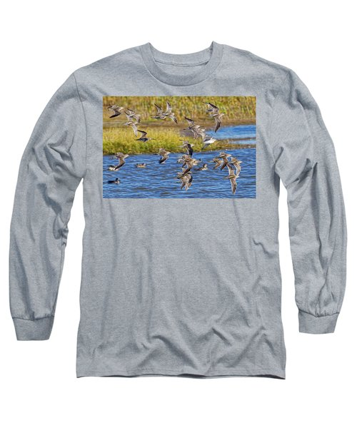 Long Sleeve T-Shirt featuring the photograph Racing Stripes by Gary Holmes