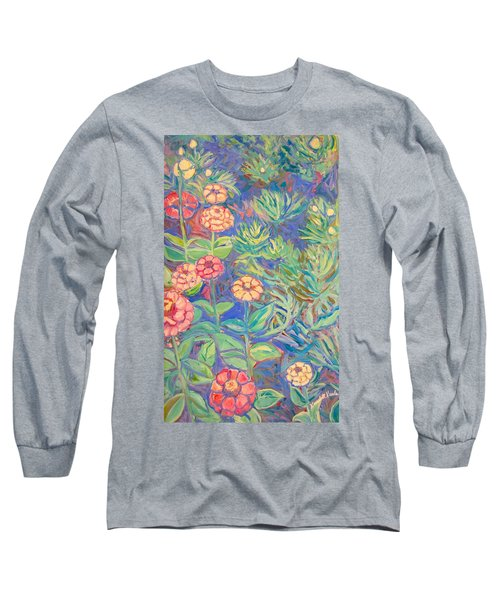 Radford Library Butterfly Garden Long Sleeve T-Shirt by Kendall Kessler