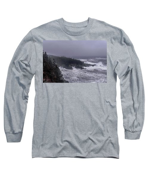 Raging Fury At Quoddy Long Sleeve T-Shirt