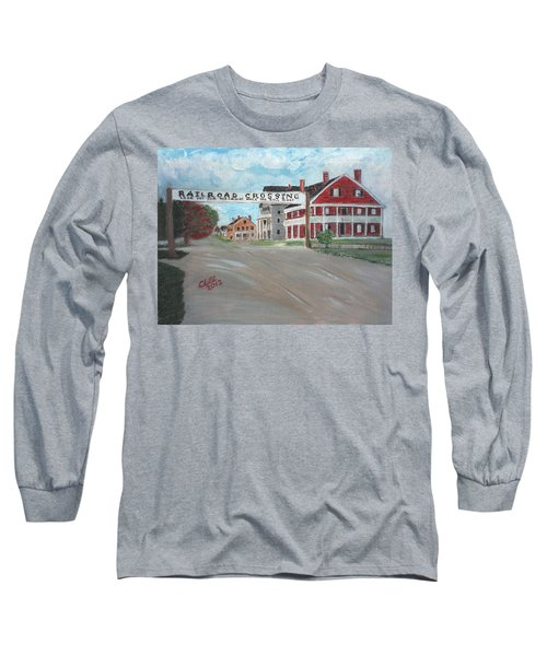 Railroad Crossing Long Sleeve T-Shirt