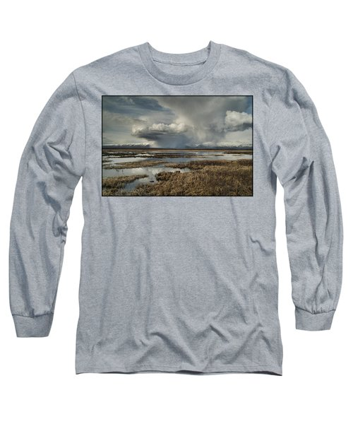 Rain Storm Long Sleeve T-Shirt