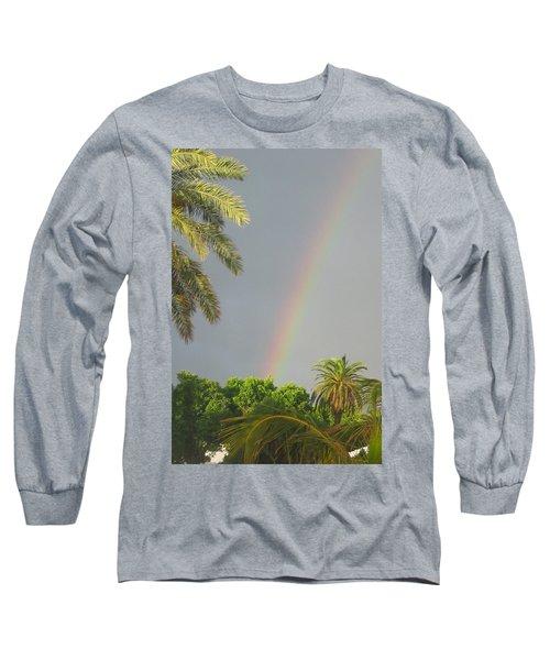 Rainbow Bermuda Long Sleeve T-Shirt by Photographic Arts And Design Studio