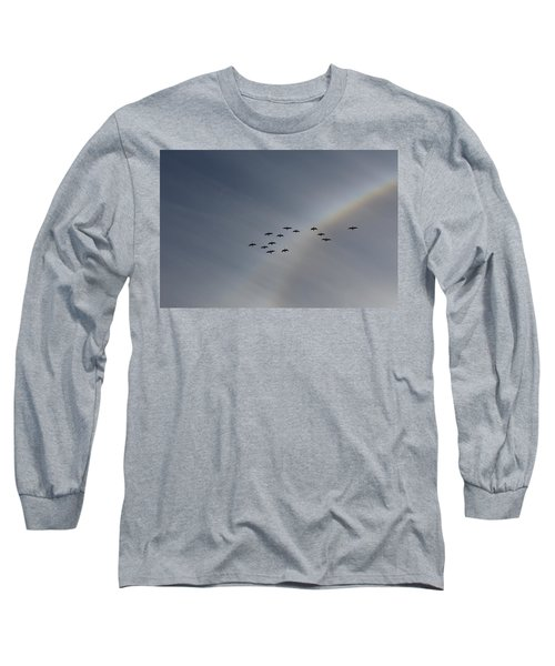 Rainbow Squadron Long Sleeve T-Shirt by Brian Boyle