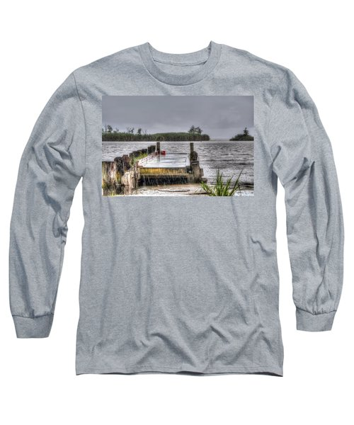 Long Sleeve T-Shirt featuring the photograph Rained Out by Charlotte Schafer