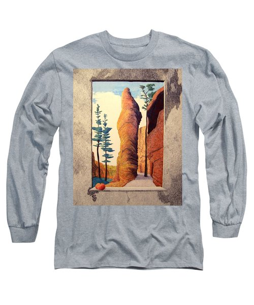 Reared Window Long Sleeve T-Shirt