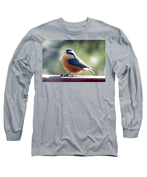 Red-breasted Nuthatch Long Sleeve T-Shirt