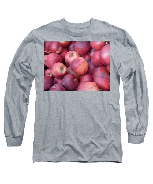 Long Sleeve T-Shirt featuring the photograph Red Delicious by Joseph Skompski