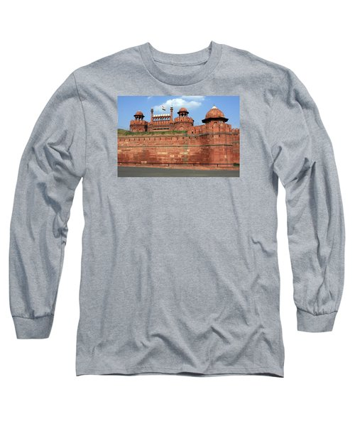 Red Fort New Delhi India Long Sleeve T-Shirt