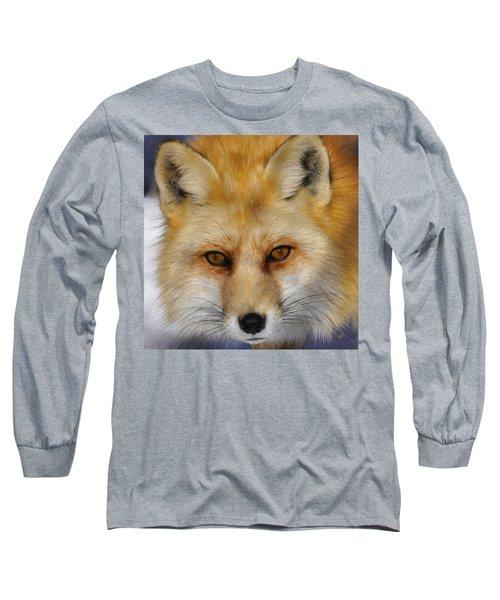 Red Fox Long Sleeve T-Shirt