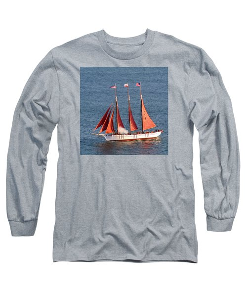 Red Sails Long Sleeve T-Shirt