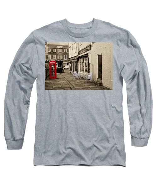 Red Telephone Box Long Sleeve T-Shirt
