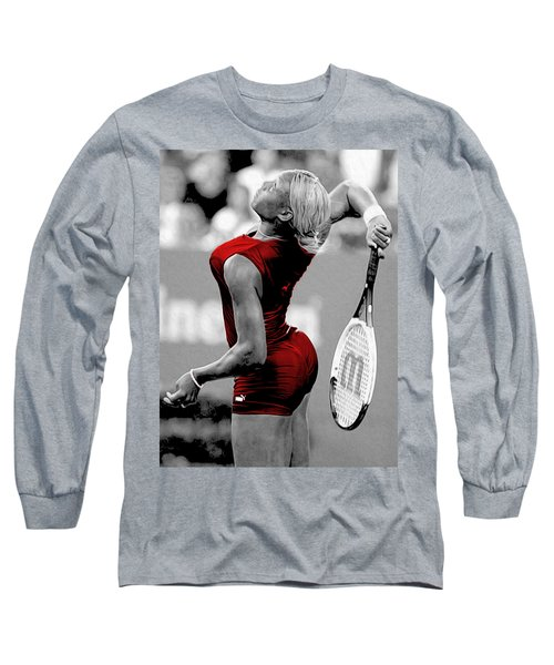 Long Sleeve T-Shirt featuring the photograph Red Cat Suit by Brian Reaves