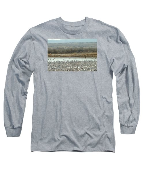 Refuge View  Long Sleeve T-Shirt by James Gay