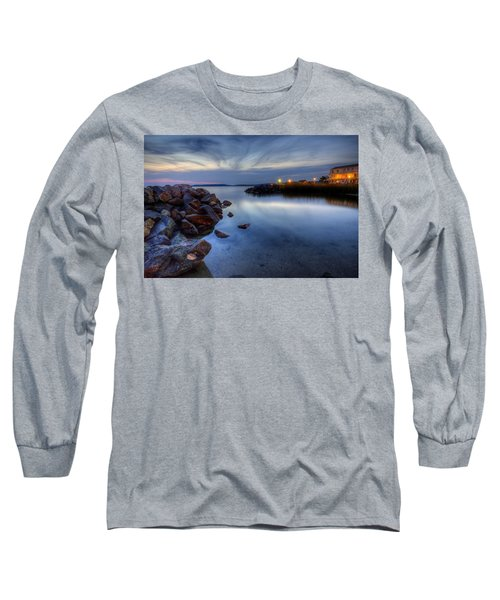 Rehoboth Bay Sunset At Dewey Beach Long Sleeve T-Shirt