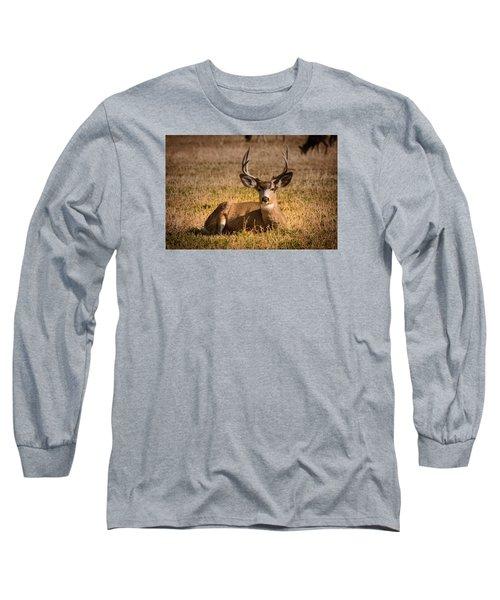 Relaxing Buck Long Sleeve T-Shirt