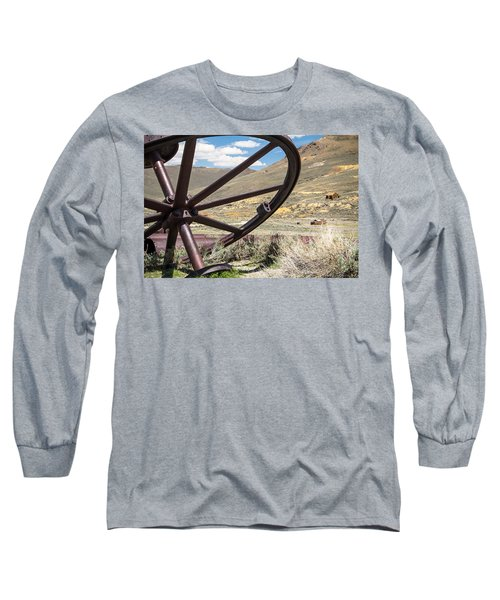Long Sleeve T-Shirt featuring the photograph Relics Of Bodie by Steven Bateson