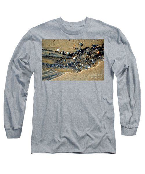 Long Sleeve T-Shirt featuring the photograph Remants by Christiane Hellner-OBrien