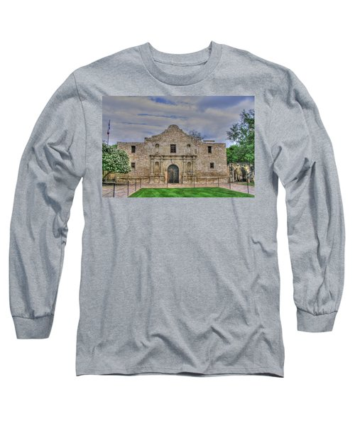 Remember The Alamo Long Sleeve T-Shirt by Barry Jones