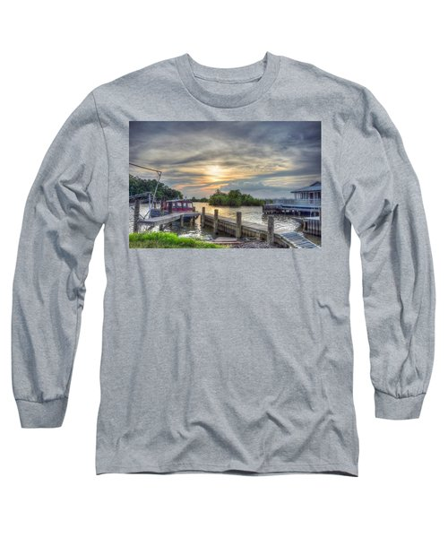 Long Sleeve T-Shirt featuring the photograph Remnants by Charlotte Schafer