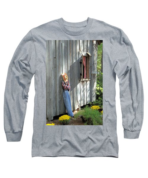 Long Sleeve T-Shirt featuring the photograph Resting by Gordon Elwell