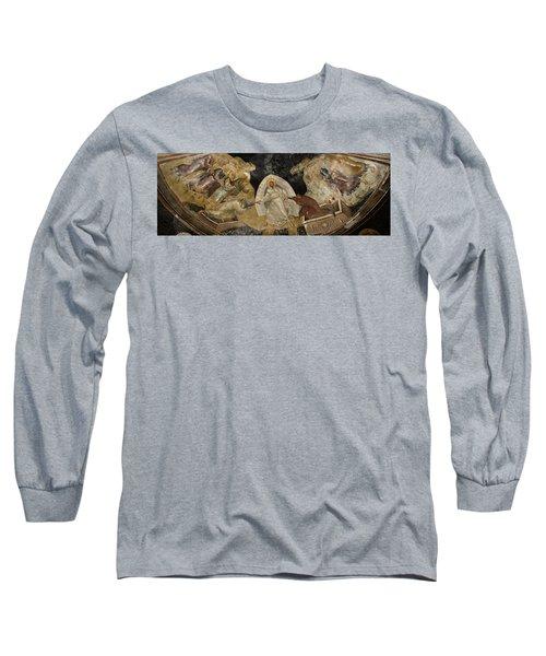Resurrection Of Adam And Eve Panorama Long Sleeve T-Shirt