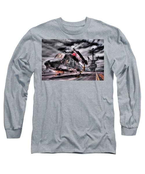 Retired Pilot Long Sleeve T-Shirt