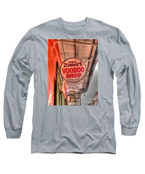 Rev. Zombie's Long Sleeve T-Shirt by David Bearden