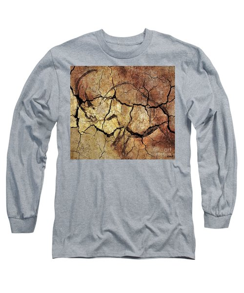 Rhinoceros From Chauve Cave Long Sleeve T-Shirt