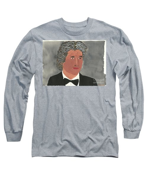 Long Sleeve T-Shirt featuring the painting Richard Gere by Tracey Williams